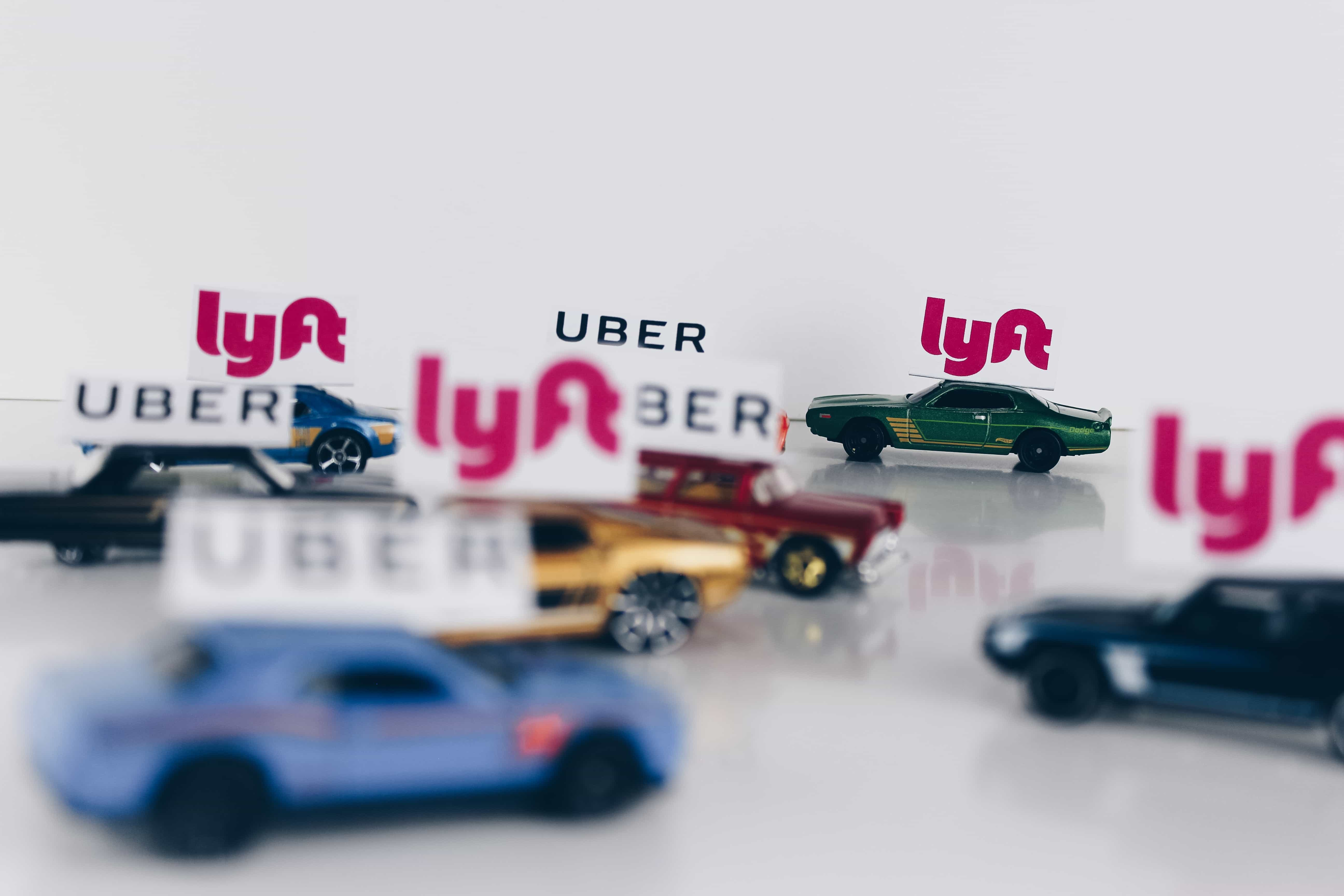 Lyft & Uber Toy Cars personal insurance