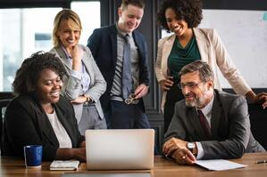 Business Meeting Insurance Professional Employer Organization