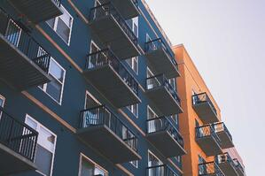 colorful apartment complex commercial property insurance