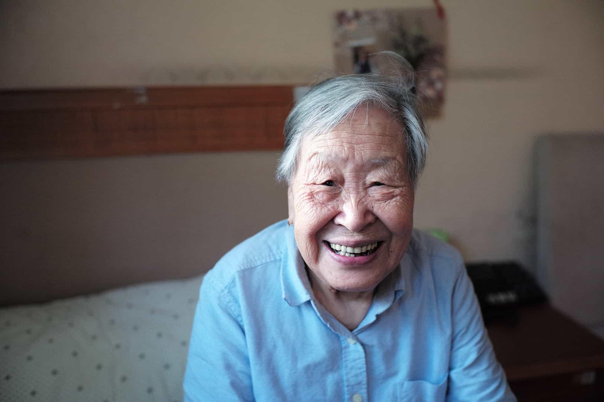 elderly woman insurance elderly nursing home