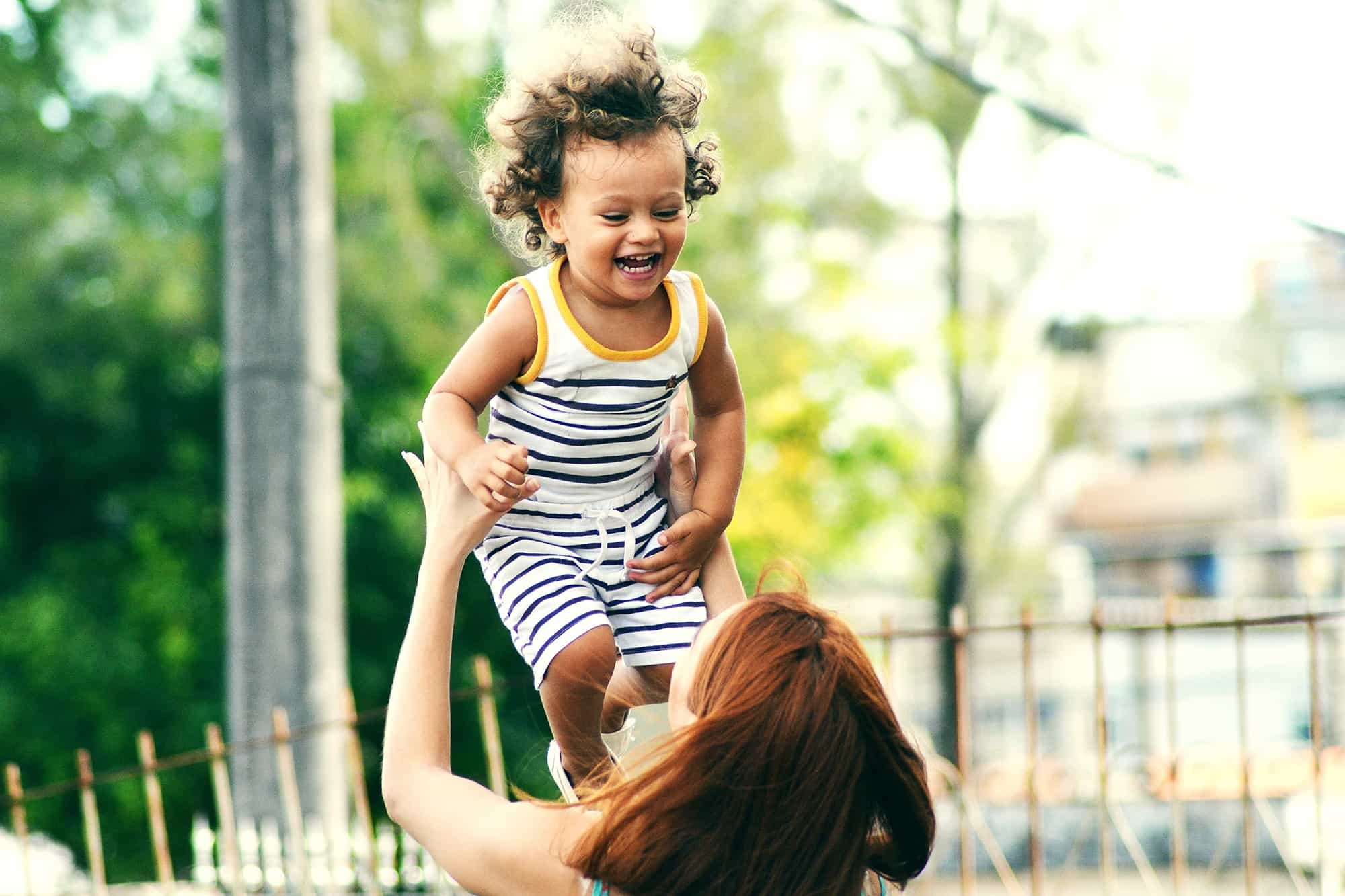 mom with kid parent life insurance
