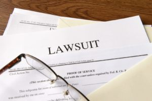 Lawsuit papers