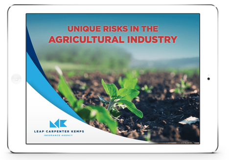 Free eBook | Unique Risks In The Agricultural Industry