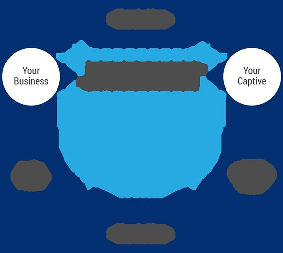Captive Insurance Diagram